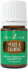 peace and calming essential oil blend