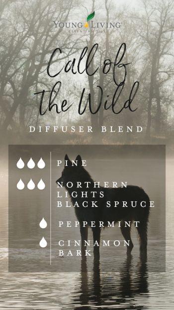 3 drops cypress 3 drops Northern Lights Black Spruce 1 drop Peppermint 1 drop Cinnamon Bark