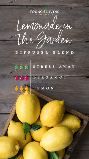 3 drops Stress Away 3 drops Bergamot 3 drops Lemon