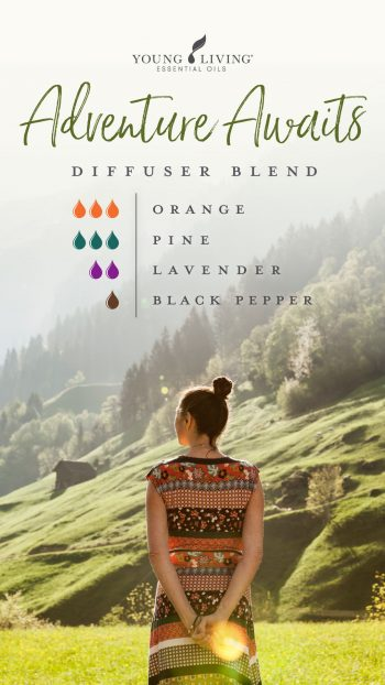 3 drops Orange 3 drops Pine 2 drops Lavender 1 drop Black Pepper