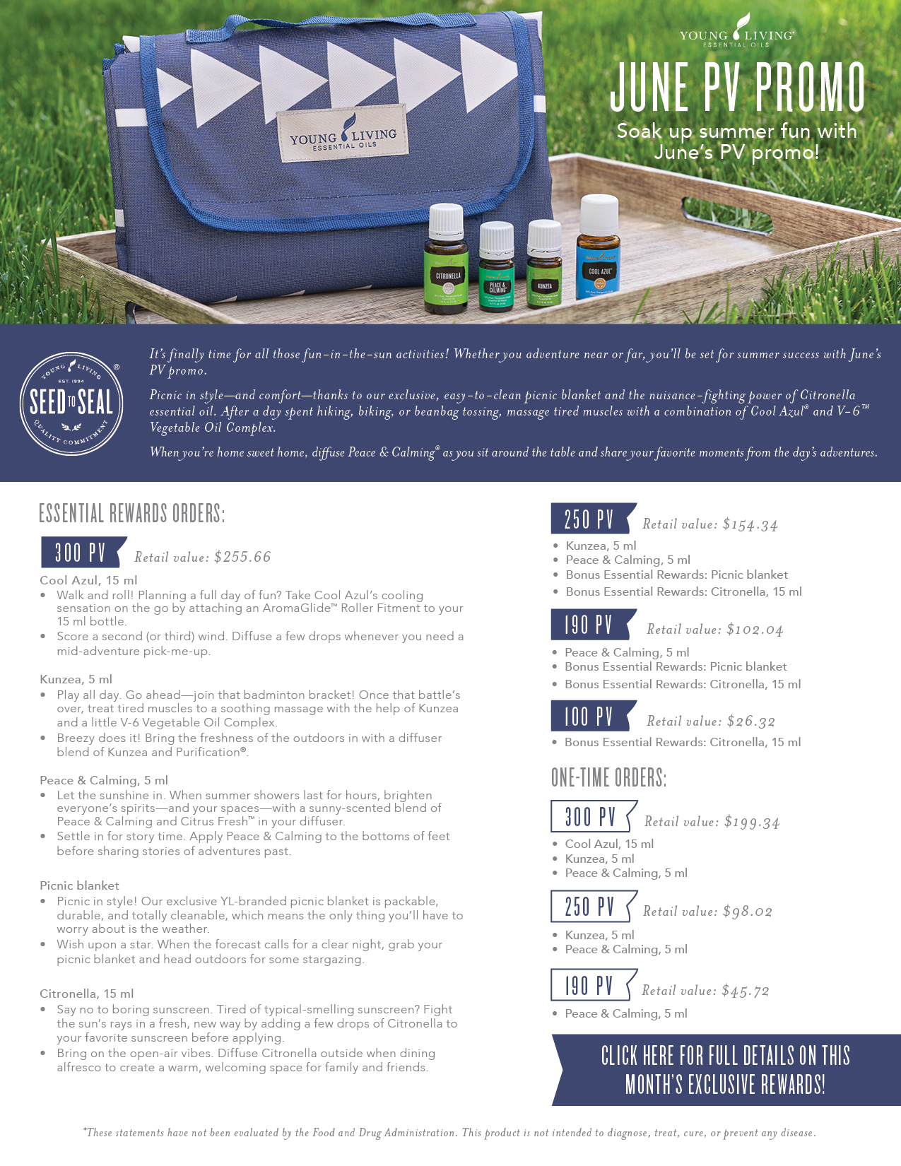 Young Living PV Promotions