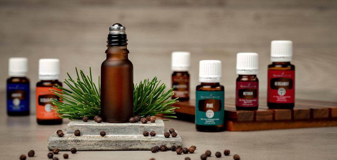 DIY cologne essential oils