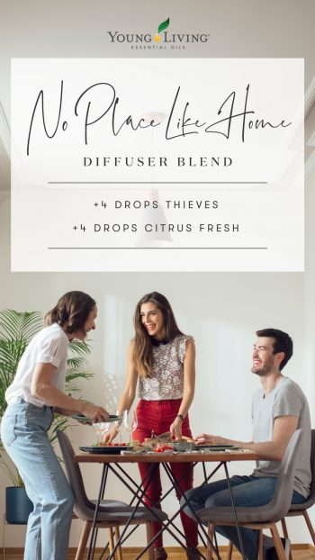 4 drops Thieves 4 drops Citrus Fresh