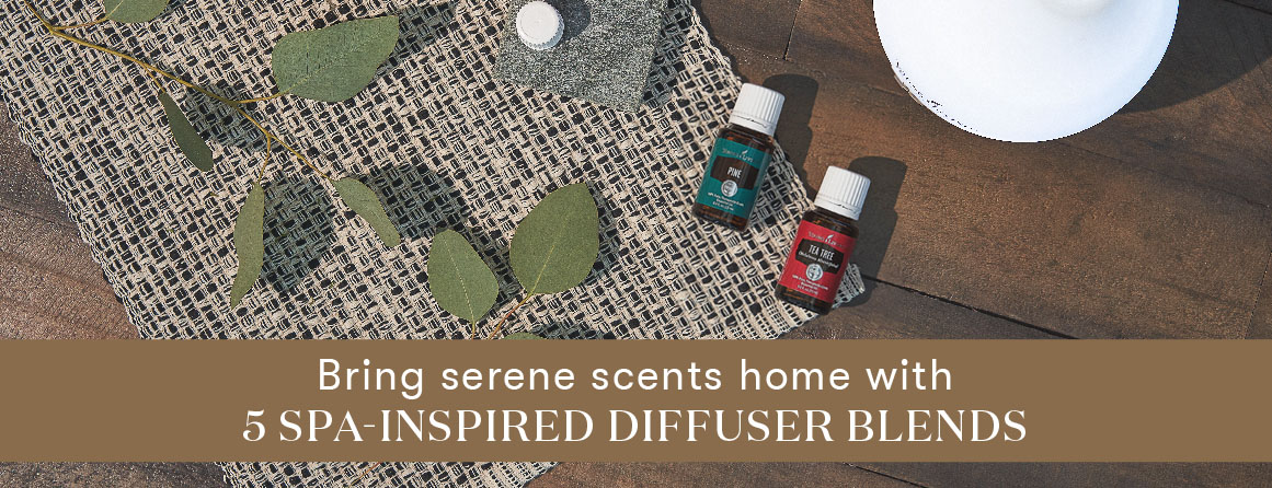 Bring serene scents home with 5 spa inspired diffuser blends