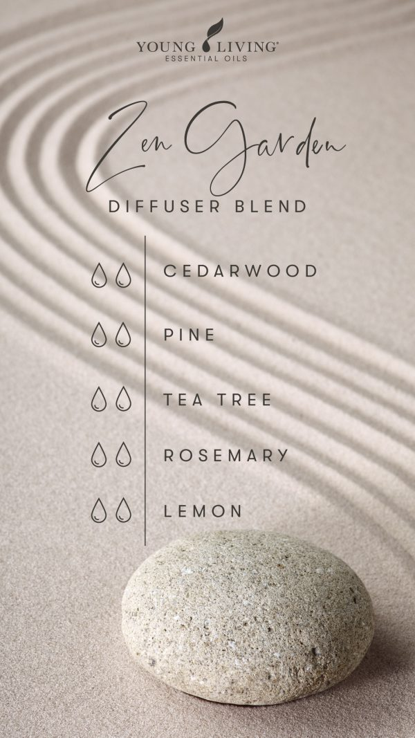 2 drops Cedarwood 2 drops Pine 2 drops Tea Tree 2 drops Rosemary 2 drops Lemon