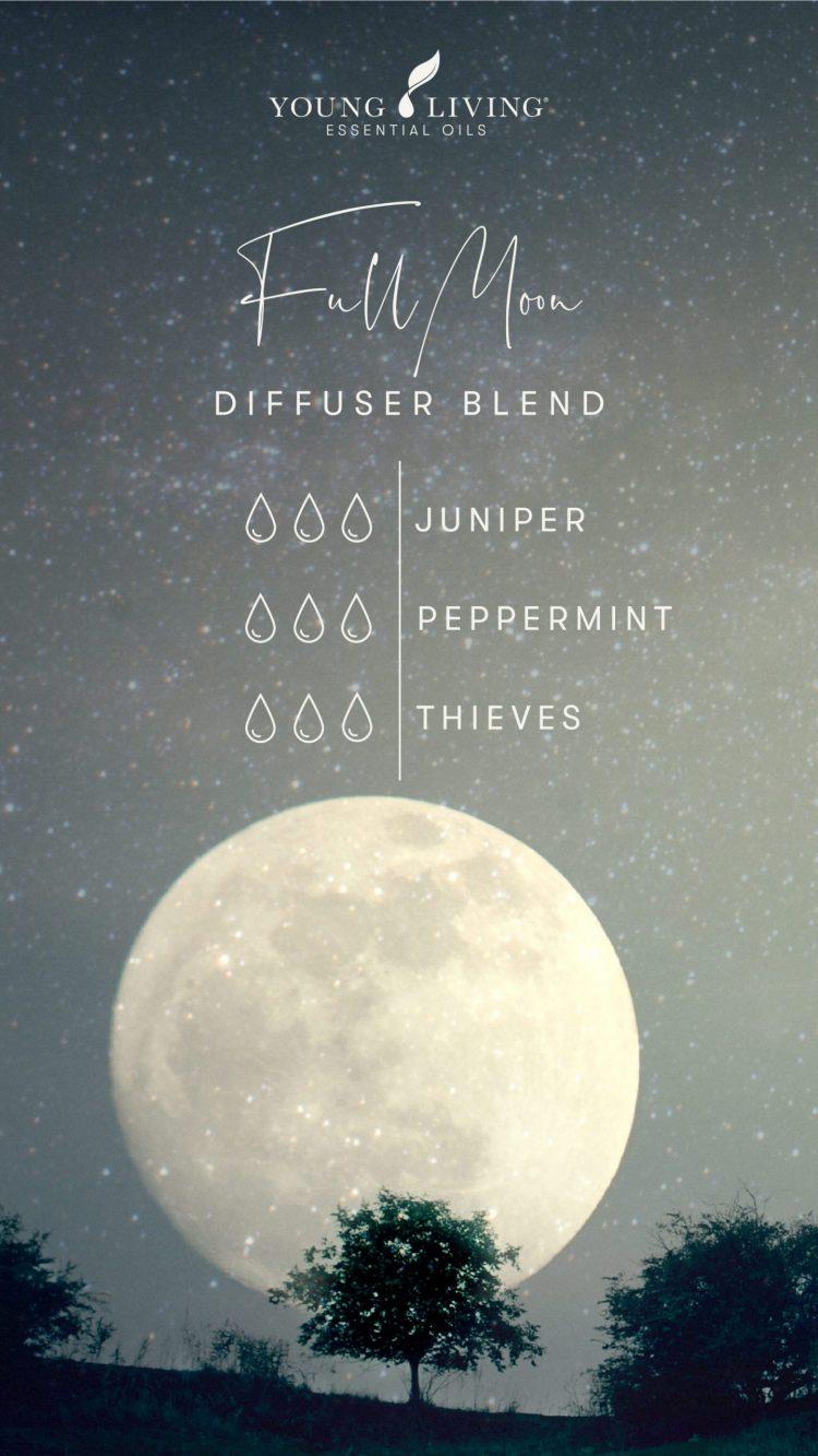 3 drops Juniper 3 drops Peppermint 3 drops Thieves