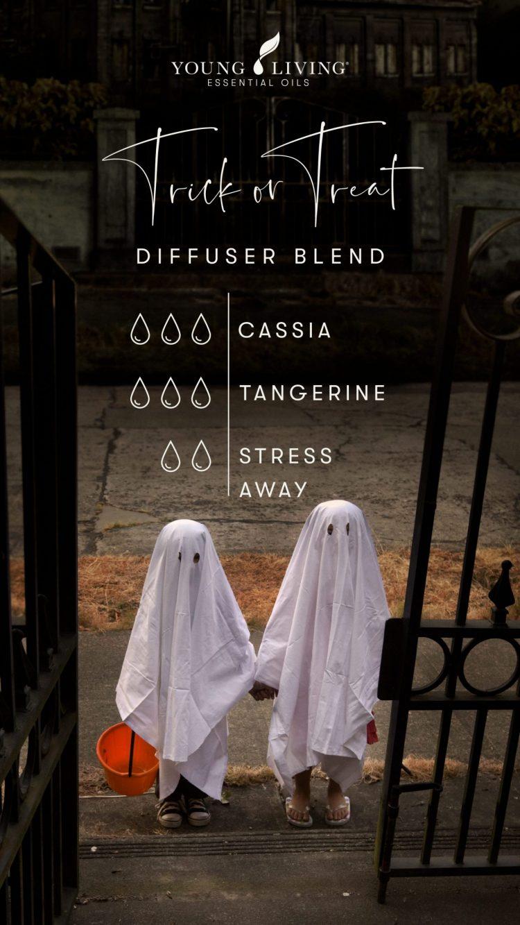 3 drops Cassia 3 drops Tangerine 2 drops Stress Away