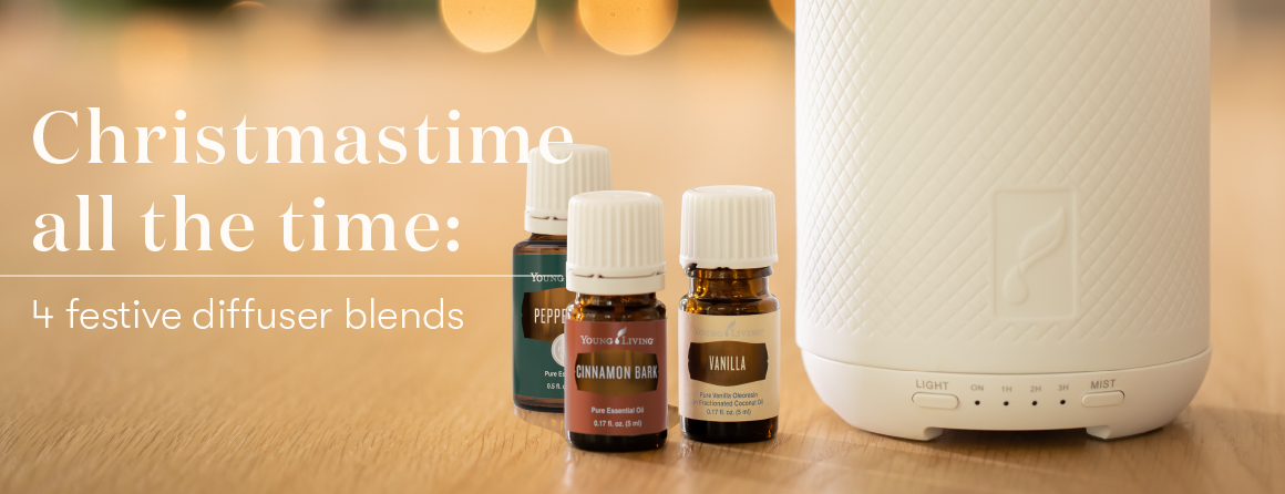 Young Living Holiday Essential Oil Diffuser Blends