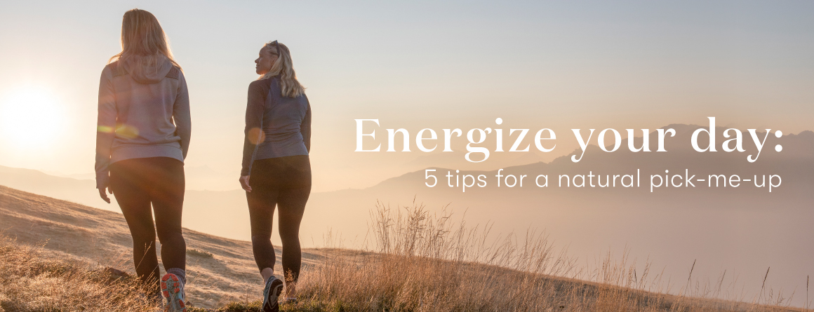 Young Living Essential Oils - 5 Tips for a natural pick-me-up