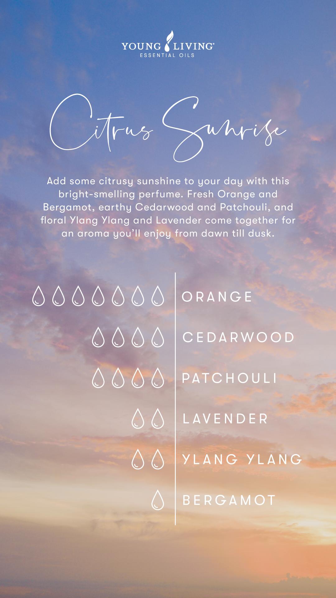 Citrus Sunrise Perfume Recipe