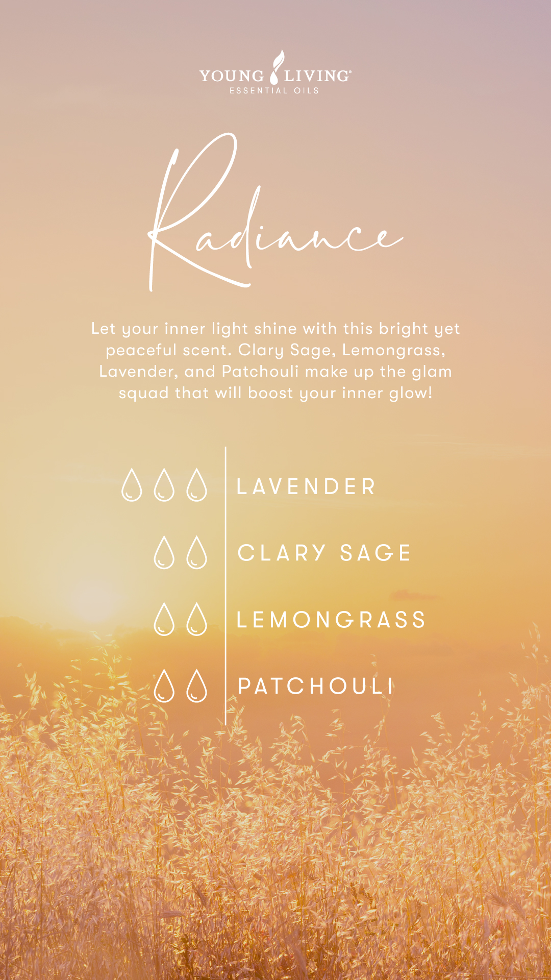 Radiance DIY Perfume recipe