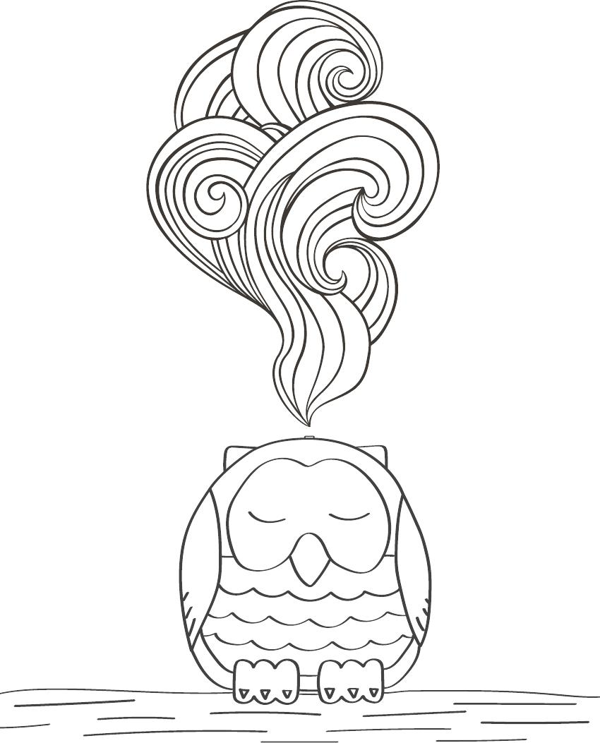 Advanced coloring page 1--Young Living Essential Oils Lavender Life Blog