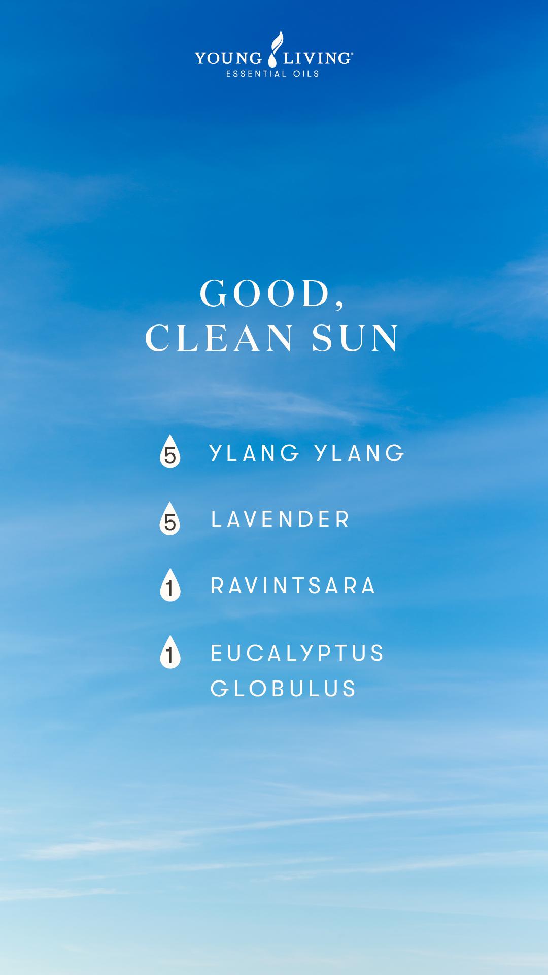 Good clean sun diffuser blend