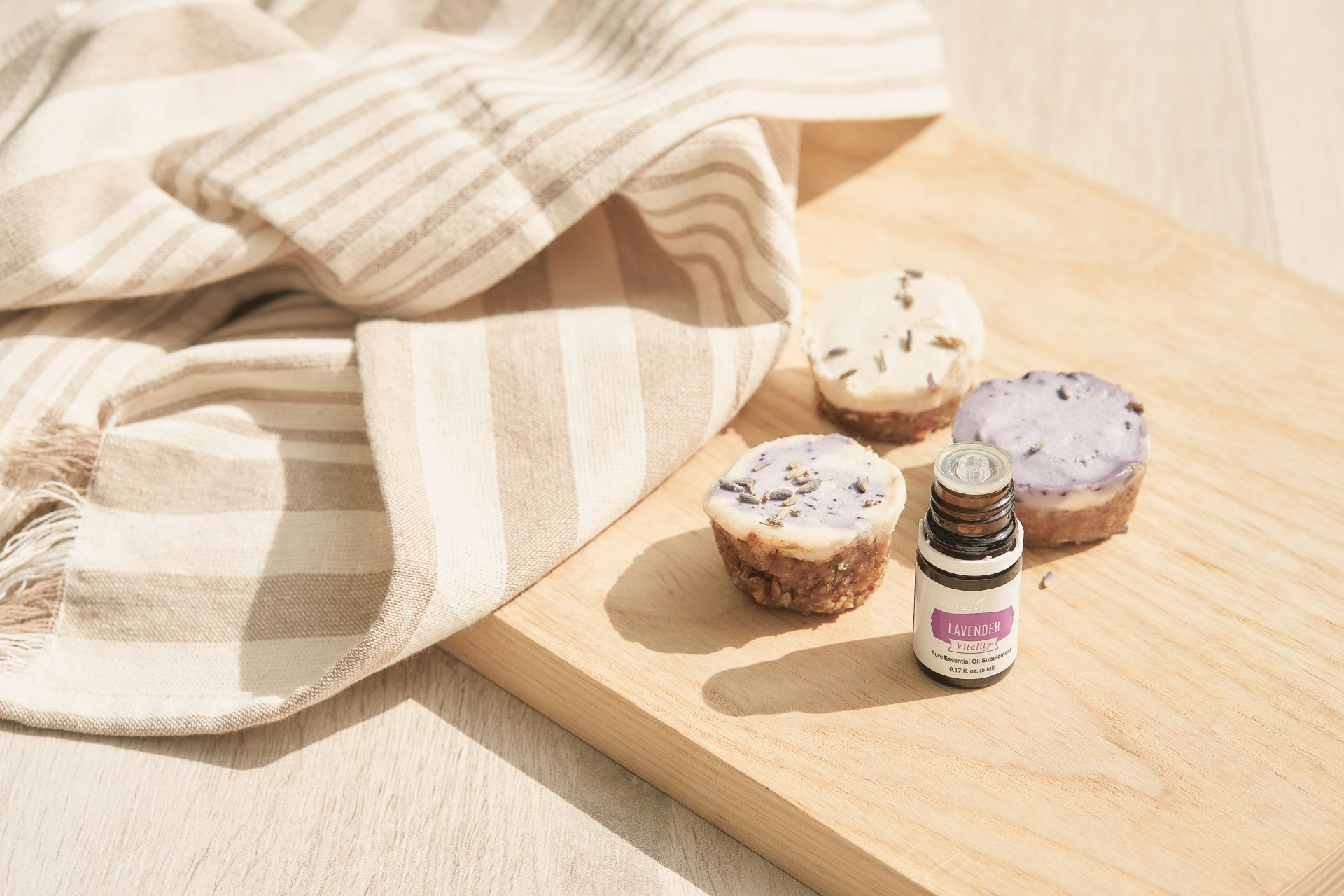 No-bake blueberry-lavender cheesecake - Young Living Lavender Life Blog