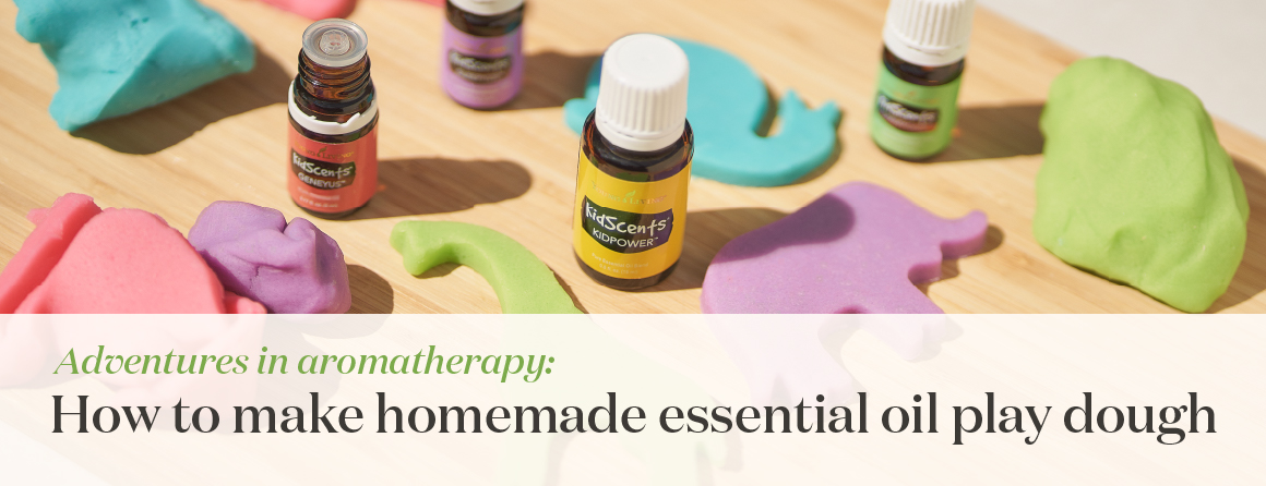 Adventures in aromatherapy: How to make homemade essential oil play dough - Young Living Lavender Life Blog