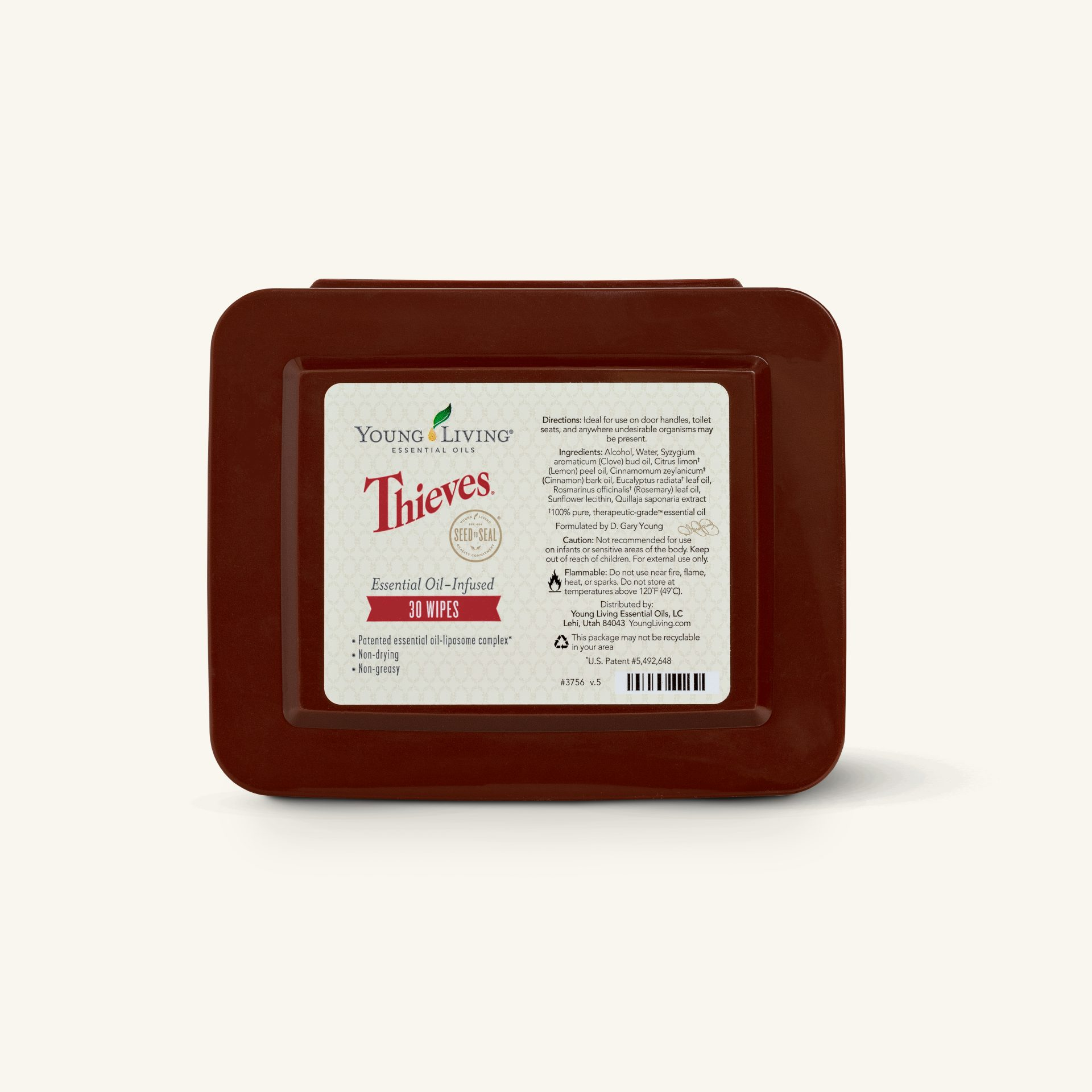 Thieves Wipes - Young Living Essential Oils