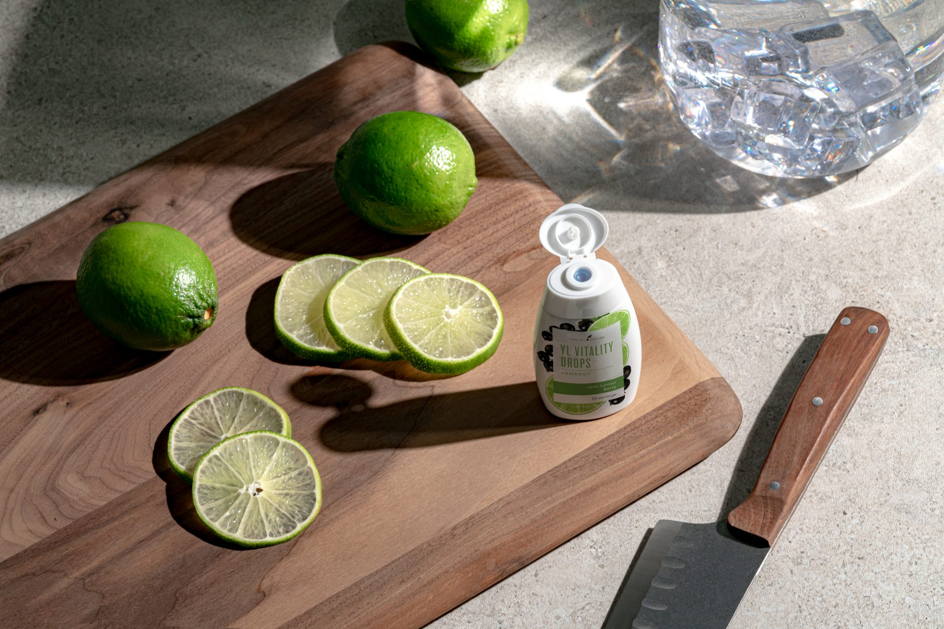 Jade Lemon Berry Vitality Drops +Energy - Young Living Essential Oils