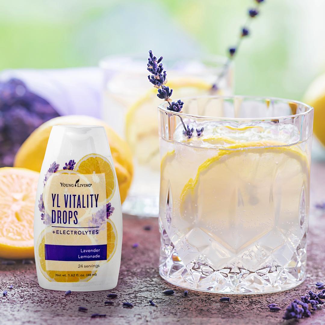Lavender Lemon Vitality Drops - Young Living Essential Oils